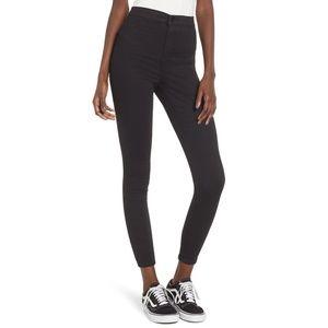 TOPSHOP MOTO JONI Black High Rise Skinny Jeans 24